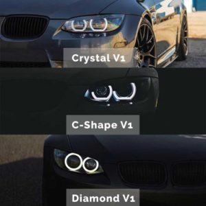 Scheinwerferumbau BMW e92 e93 Individuell