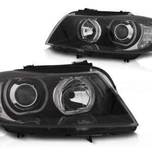 E90 E91 Xenonscheinwerfer mit angel eyes und LED Blinker