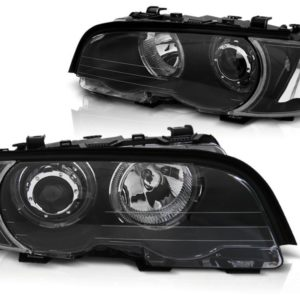 BMW E46 Xenon Look Scheinwerfer mit LED Angel Eyes